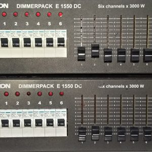 Electron Dimmer Pack E1550DC-6Channels-3000W