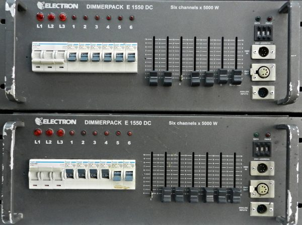 Electron Dimmer Pack E1550DC-6Channels-5000W