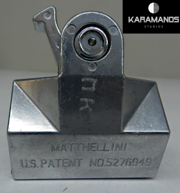 Matthews Matthellini Clamp with 6 End Jaw (Silver)
